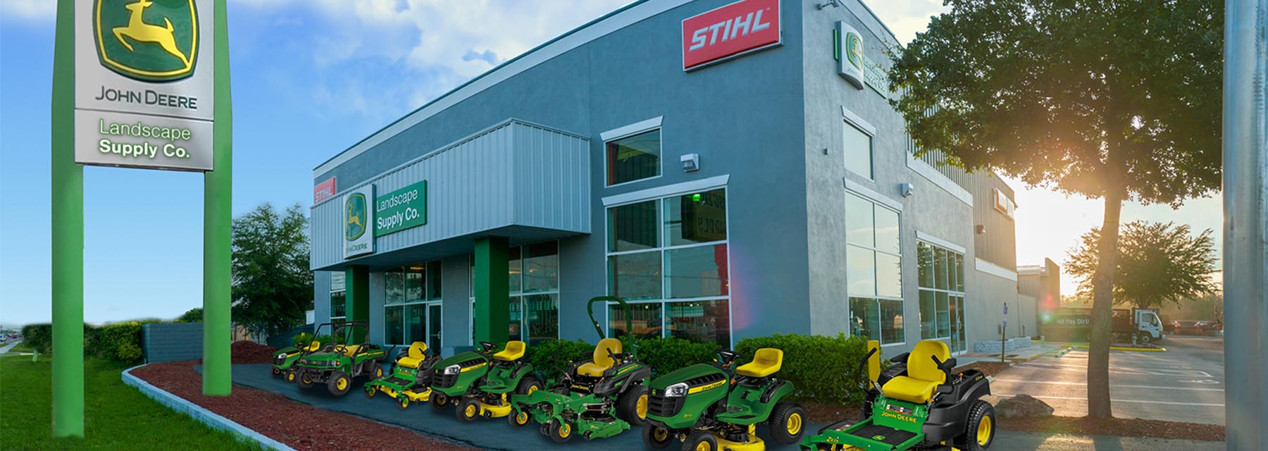 Landscape Supply Co  | John Deere | Stihl | Honda Dealer