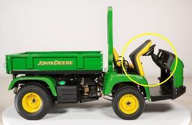 "John Deere TCA24910 24910C Original Equipment Wiring Harness 8/"" ProGator 2020A"