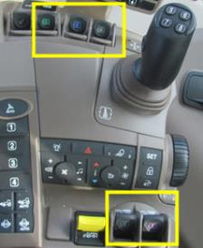 E- SCV controls on CommandARM© controls