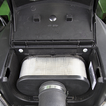 Replaceable air filter element