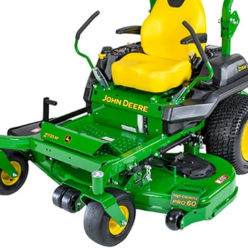 Z735M with 60-in. (152-cm) HC PRO Mower Deck