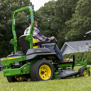 ZTrak© Z720E Mower shown