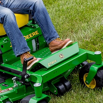 ZTrak Z720E Mower shown