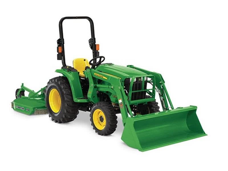 John Deere 1025R with Loader & Backhoe