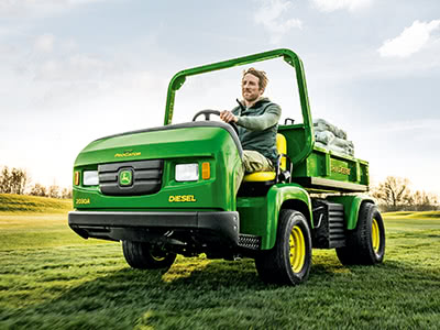 Golf and Turf Utility Vehicles