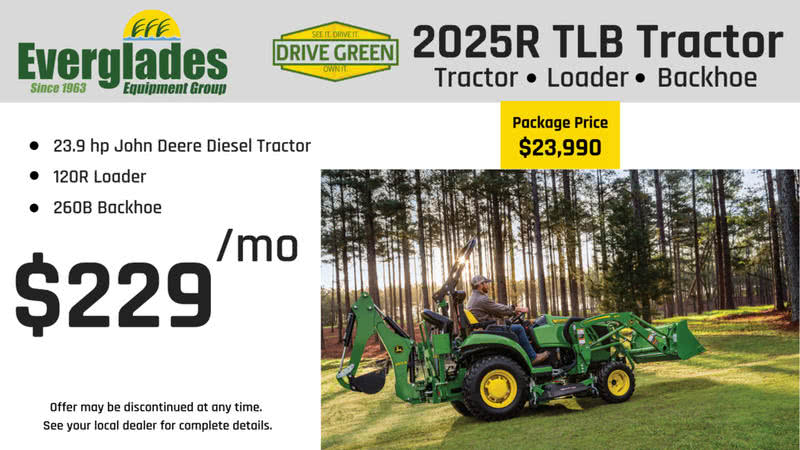 Everglades Equipment Group 2025R TLB Tractor Package Product Photo
