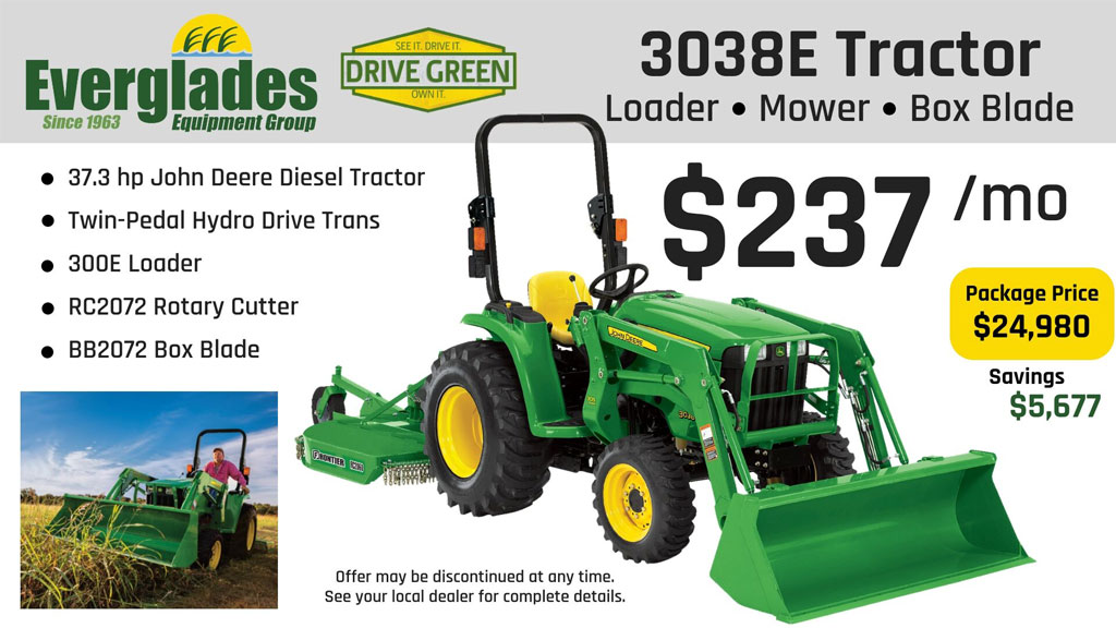Everglades Equipment Group 3038E Tractor Package Product Photo
