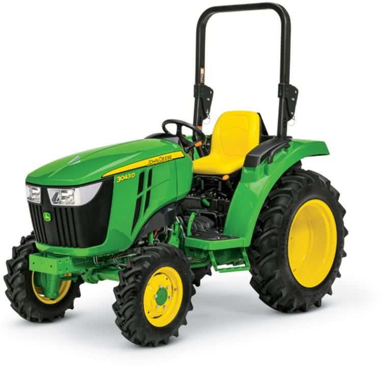 John Deere 3043D Product Photo