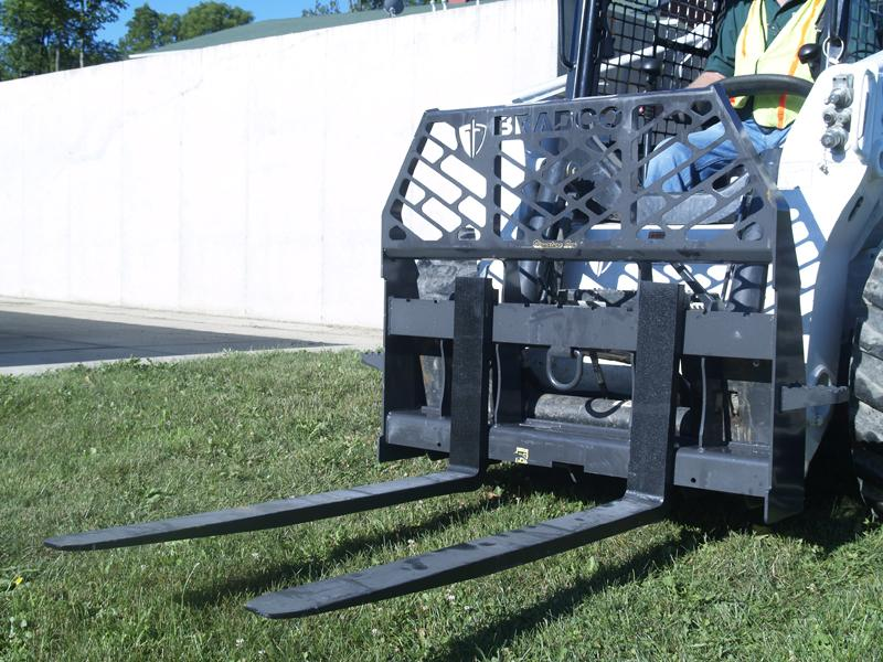 Paladin Attachments Pallet Forks Walk-Thru Product Photo